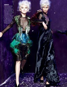 CLM - Hair & Make Up - Make-up - vogue ukraine phil poynter