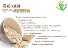 Como hacer y preparar agua de AVENA #salud #saludable #remedioscaseros #remediosnaturales  #avena