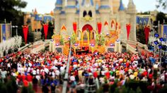 Tilt-Shift Video: Walt Disney World Christmas Day Parade 2009 - most amazing thing we did with our kiddies spending Christmas and New Year at WDW. Now a much loved tradition.