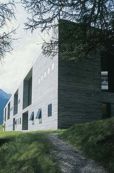 Therme Vals spa in Vals, Switzerland. By Peter Zumthor