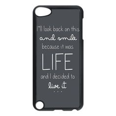 Ed Sheeran Quotes Ipod Touch 5th Generation Case Hard Plastic Ipod Touch 5 Case ❤