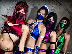 The Mortal Kombat Girls  by ~SNTP