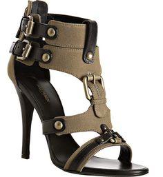 Balmain. Gladiator stiletto sandels