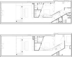 Floor plan of renovated Amsterdam home
