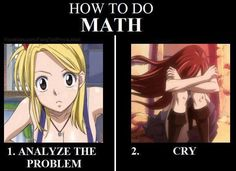 How to do math Fairy Tail style.