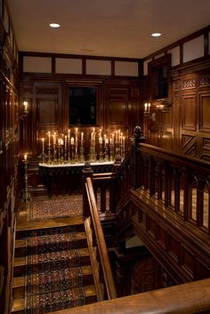 Stairwell - traditional - staircase - austin - by Cravotta Studios -Interior Design Gothic Interior, Home Interior, Interior Design, Traditional Staircase, Traditional Interior, Potters House, Painted Stairs, Gothic House, Staircase Design