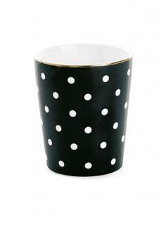 Miss Ètoile - Keramikbecher Punkte