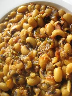 Black-Eyed Peas with Tomatoes and Spices | Lisa's Kitchen | Vegetarian Recipes | Cooking Hints | Food & Nutrition Articles