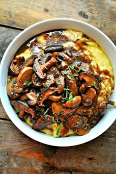 Polenta and Red Wine