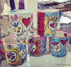 crafty chica mugs