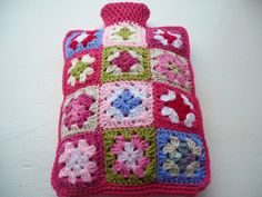 Granny Square Hot Water Bottle Cover £20.00