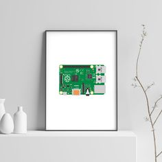 Pc Computer, Computer Science, Nerd Gifts, Nerd Art, Science Art, Home Wall Art, Print Poster, Art Decor, Raspberry