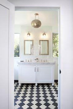 Beautiful bathroom + tiles. VSCO Film x Mike Carreiro | visualsupply.co