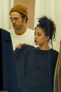Good times: Her and Robert enjoy the simple things in life - including shopping, clearly!...