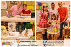 Ateliê na TV - Rede Brasil - 24.05.16 - Mayumi Takushi e Fabianno Oliveira