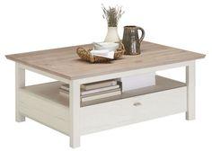 Konferenční stolek od HOM`IN v rustikálním stylu