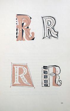 Imre Reiner // page extraite de Grafika : Modern Design for Advertising and Printing.