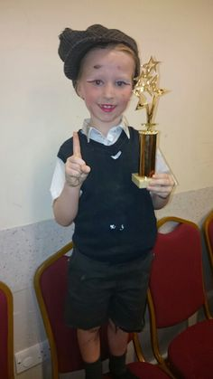 A win in the song and dance category.