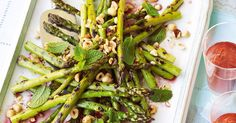 Add colour and style to a laid-back barbecue menu with this asparagus side - it's fancy food minus the fuss.