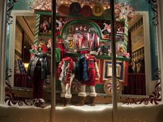 ralph lauren store windows | At the Men's Store, also known as The Mansion the windows took on ...
