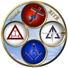 York Rite Masonic Clip Art Masonic Order, Masonic Art, Masonic Temple, Masonic Symbols, Freemason Tattoo, Grand Lodge, Eastern Star, Freemasonry, Knights Templar