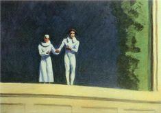 Two Comedians - Edward Hopper