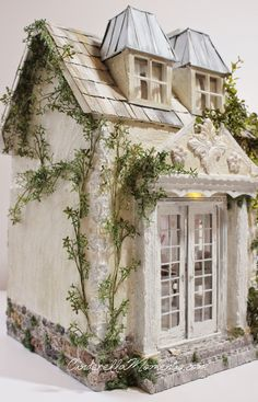 Cinderella Moments miniature cottage