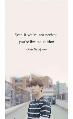 Even if you are not perfect, you are limited in . Even if you are not perfect, you are limited in Pop Lyrics, Bts Song Lyrics, Bts Lyrics Quotes, Bts Qoutes, Frases Bts, K Quotes, Bts Wallpaper Lyrics, Korean Drama Quotes, Bts Texts