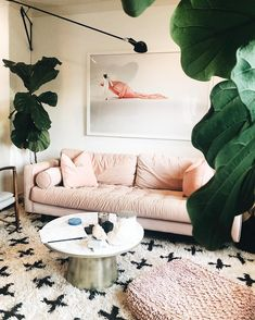 """Chelssie Urankar, Pn1 on Instagram: """"Wherever Life Plants you, Bloom with Grace. _________ While I'm no longer planted on this powder pink- crushed velvet sofa enjoying time…"""" Crushed Velvet Sofa, Pink Sofa, I Coming Home, Interior Decorating, Interior Design, Powder Pink, Long A, Cozy House, Lust"""