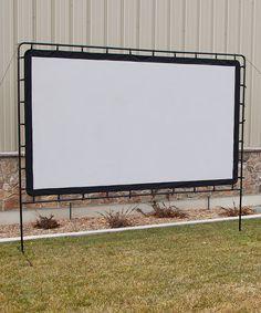 Entertainment Gear 132'' Indoor/Outdoor Projection Screen