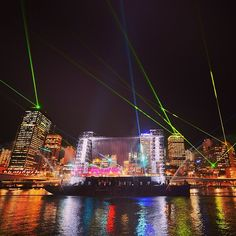 Event: Santos GLNG City of Lights, Brisbane Festival. It's on twice a night (at least!) from 7 - 27 September 2013 Festival Guide, Simply Home, Festival Image, Australia, Cultural Events, Sunshine State, Event Calendar, City Lights, Light Photography
