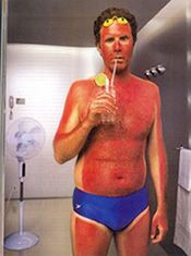 """""""It's Tea Time"""" for Sunburn Relief ~ {should only be applied AFTER """"heat"""" of the sunburn is gone, as oils will trap heat in skin! I suggest cool water &/or aloe vera with cold-pressed lavender water used BEFORE burn has cooled}"""