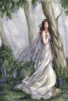 ≍ Nature's Fairy Nymphs ≍ magical elves, sprites, pixies and winged woodland faeries - Selina Fenech Fairy Dust, Fairy Land, Fairy Tales, Forest Fairy, Magical Creatures, Fantasy Creatures, Illustration Fantasy, Elves And Fairies, Fairies Garden