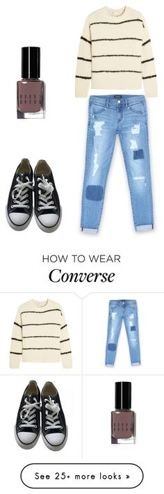 """Untitled #606"" by deima-835 on Polyvore featuring Bebe, Brunello Cucinelli, Converse and Bobbi Brown Cosmetics"