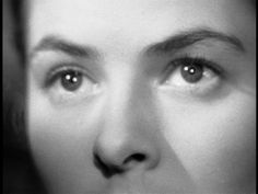 Ingrid Bergman in Spellbound (1945, dir. Alfred Hitchcock)