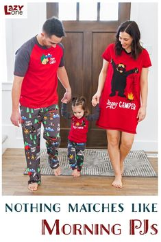 Our Happy Camper Matching Family Pajama set is one of our most popular designs. It is a great family matching set with infant, kids, women, and men's designs for everyone! Plus they are made with 100% combed cotton making them very soft and comfy! Family Pajama Sets, Matching Family Pajamas, Kids Pajamas, Pjs, Camping Games, Men Design, Matching Set, Funny Design, Happy Campers