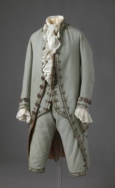 Man's suit, 1783, National Museum of Art, Architecture and Design, Norway OK-03675