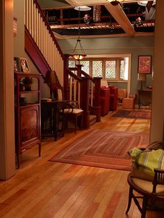 Zeek and Camille's front hall   #Parenthood