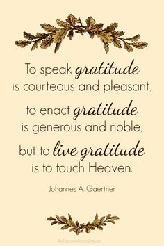 A Thanksgiving FREE 8x10 Printable QUOTE reminding us to LIVE Gratitude. Download, print, and frame for your Thanksgiving buffet or use in a fall vignette... available HERE...