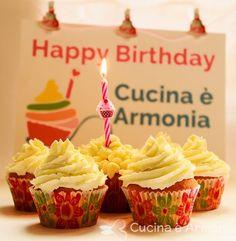 Primo Compiblog... All lemon cupcakes! #cucinaearmonia #foodblog #1year #HappyBday #cupcakes #lemoncurd