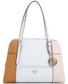 1c364d1e843 GUESS Huntley Medium Cali Satchel & Reviews - Handbags & Accessories -  Macy's
