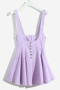 Lavender Pleated Tank Top