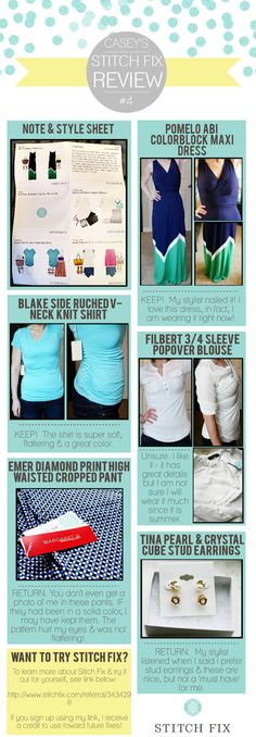 Stitch Fix #4 | Created in #free @Piktochart #Infographic Editor at www.piktochart.com