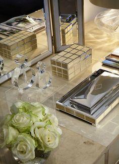 Chelsea, London | Luxury Interior Design | Dressing Table | Jewellery Box