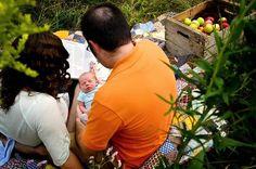 A.S.W. Fall Family Photo Shoot Newborn Picnic ©Amber S. Wallace Photography  North Carolina