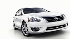 The 2013 Altima features a crisp new grille design, seamless bumper, and projector-type headlights to create a bold, sophisticated appearance #2013Altima  www.HamiltonNissan.com