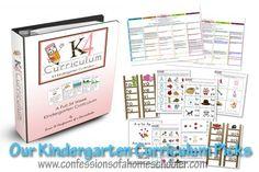 Kindergarten Homeschool Curriculum Picks - Confessions of a Homeschooler