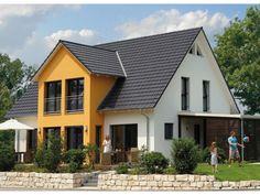 Variant 45-175 - #Einfamilienhaus von Hanse Haus GmbH Vertriebsbüro Dresden | HausXXL #Fertighaus #Energiesparhaus #Passivhaus #klassisch #Satteldach