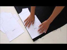 Scuola cucito 6 cartamodello corpetto - YouTube