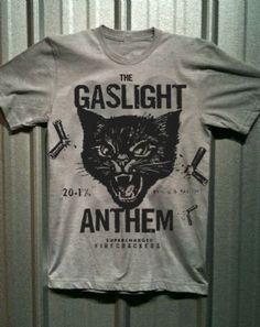 The Gaslight Anthem - Black Cat Men's T-Shirt